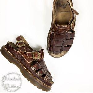 Dr. Martens Heavy Fisherman Platform Sandals
